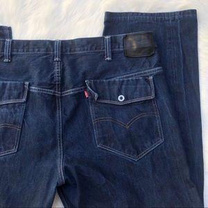 Men's 569 loose Levi's denim jeans Flap Pockets 42